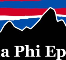 Sigma Phi Epsilon Red White and Blue Sticker