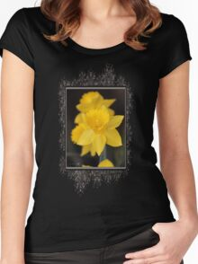 Daffodil named Exception Women's Fitted Scoop T-Shirt