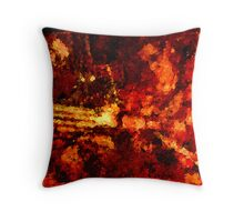 Rusted Armor Throw Pillow