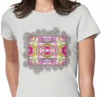 Star Elite Abstract Womens Fitted T-Shirt