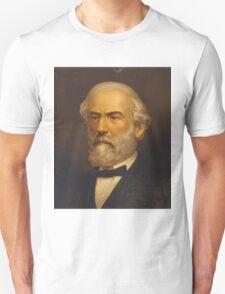 Robert Edward Lee Head-and-Shoulders Portrait Facing Left Unisex T-Shirt