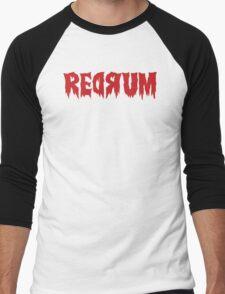 The Shining Redrum Men's Baseball ¾ T-Shirt