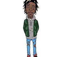 Wiz Khalifa by brantchapman