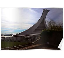 Olympic Stadium Montreal Poster