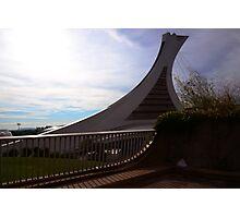 Olympic Stadium Montreal Photographic Print