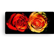 Forgotten Roses Canvas Print