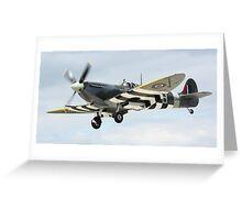 Supermarine Spitfire Greeting Card