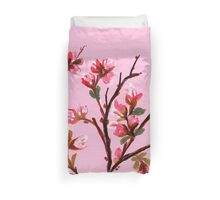 Cherry Blossoms from Amphai Duvet Cover