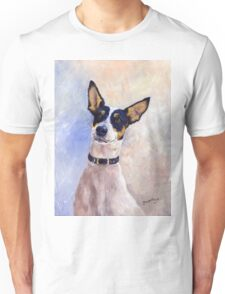 Daisy - Portrait of a Ratonero Bodeguero Andaluz Unisex T-Shirt