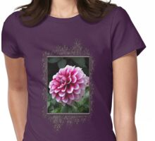 Dwarf Dahlia named Colima Womens Fitted T-Shirt