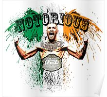 Conor McGregor Notorious UFC Poster