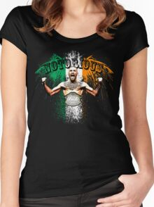 Conor McGregor Notorious UFC Women's Fitted Scoop T-Shirt