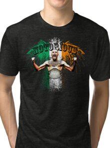 Conor McGregor Notorious UFC Tri-blend T-Shirt