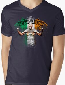 Conor McGregor Notorious UFC Mens V-Neck T-Shirt