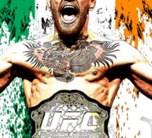 Conor McGregor Notorious UFC Sticker