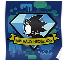 Emerald Sonic Poster