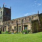Skipton Parish Church by Colin Metcalf