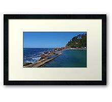 Blue Summer Framed Print