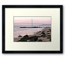 Verrazano-Narrows Bridge  Framed Print