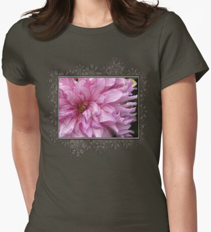 Dahlia named Annette C Womens Fitted T-Shirt