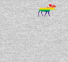 Rainbow Pride Moose T-Shirt