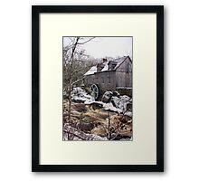 Sable River Mill Framed Print