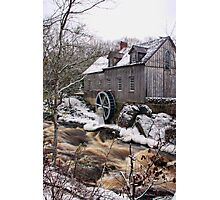 Sable River Mill Photographic Print