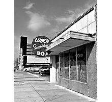 Box Lunch Photographic Print