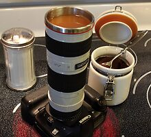 I Love The Smell Of Canon Coffee In The Morning   by Gary Fairhead