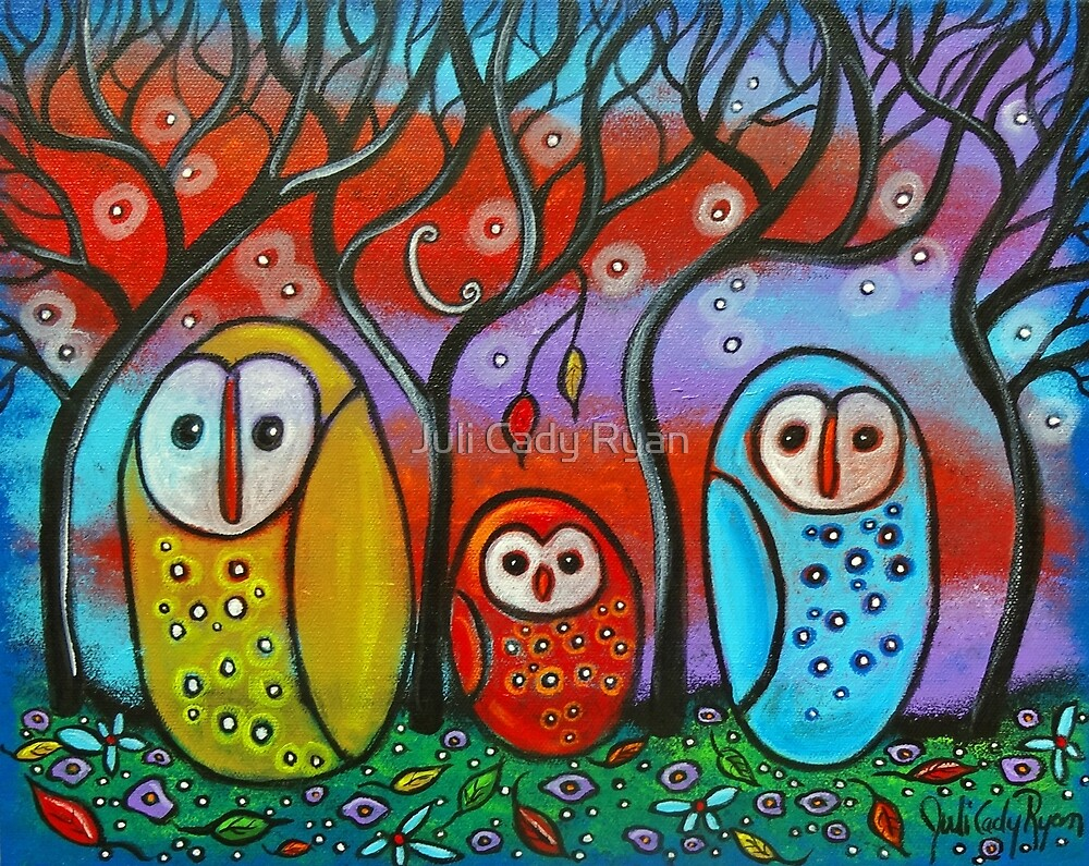The Owl Family by Juli Cady Ryan