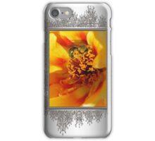 Portulaca in Orange Fading to Yellow iPhone Case/Skin