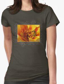 Portulaca in Orange Fading to Yellow T-Shirt