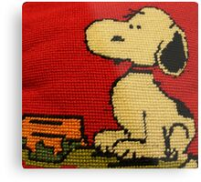 Hey Snoopy! Metal Print