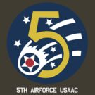 5th Airforce Emblem by warbirdwear