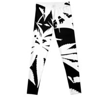 Two-Tone Field of Weed Leggings