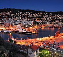 Nice Harbour by AlanLongPhoto