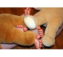 bear feet Photographic Print