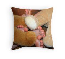 bear feet Throw Pillow