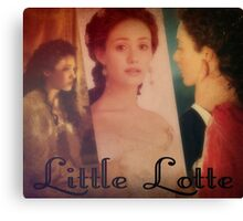 Little Lotte Canvas Print