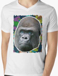 Radical Gorilla Mens V-Neck T-Shirt