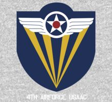 4th Airforce Emblem Baby Tee