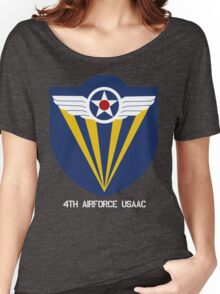 4th Airforce Emblem Women's Relaxed Fit T-Shirt
