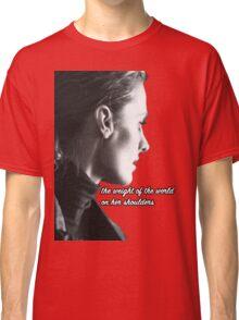 Kate Beckett weight of the world Classic T-Shirt