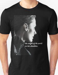 Kate Beckett weight of the world T-Shirt