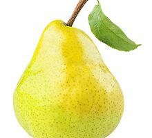 Yellow pear by 6hands