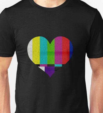 TV HEART Unisex T-Shirt