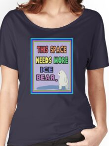 We Bare Bears,  More Ice Bear Women's Relaxed Fit T-Shirt