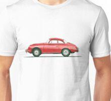 Porsche 356 B Karmann Hardtop Coupe Unisex T-Shirt
