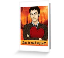 Does It Need Saying? Greeting Card