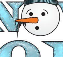 Snow 2011 Sticker